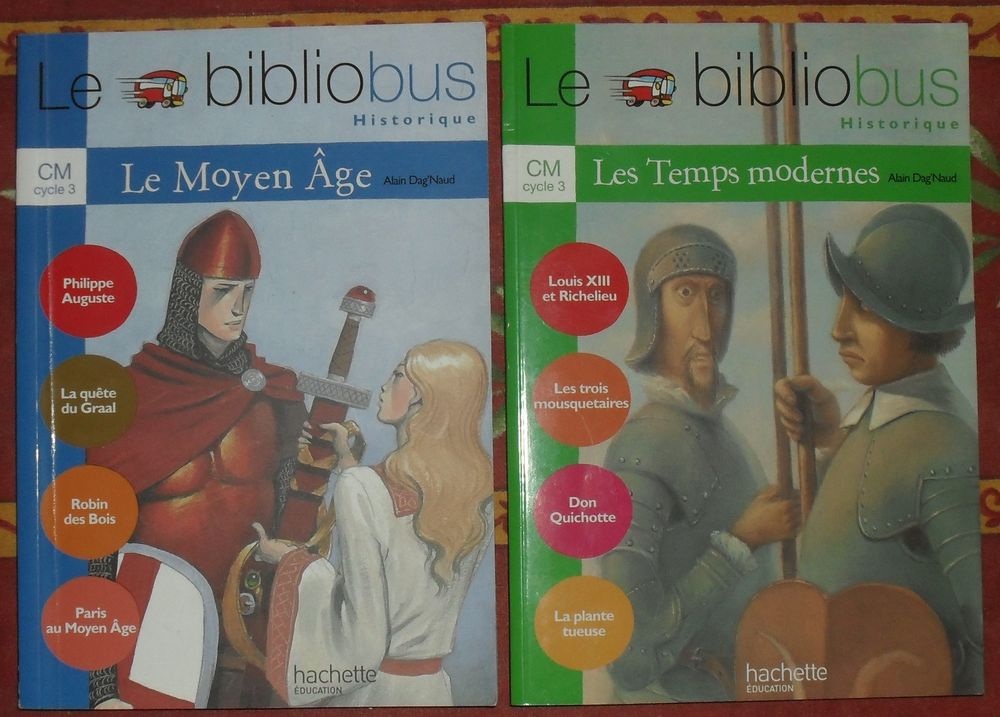 Le Bibliobus historique le Moyen Age et les Temps Modernes Neuf Livres et BD