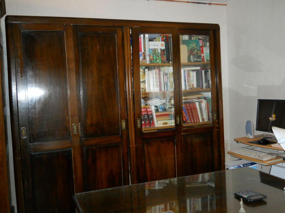 Achetez bibliotheque acajou occasion annonce vente villecresnes 94 wb155 - Meuble acajou massif ...