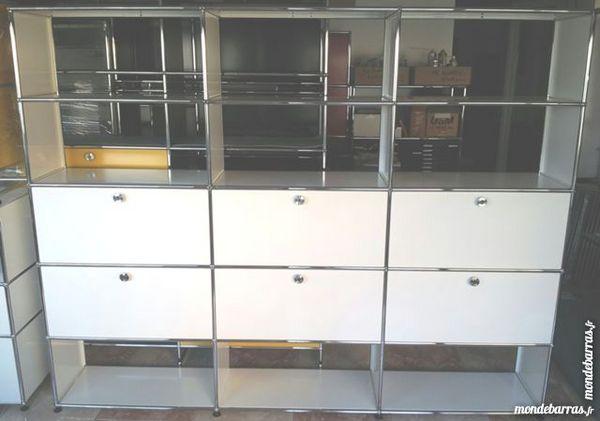 achetez biblioth que blanche occasion annonce vente chenoise 77 wb153100503. Black Bedroom Furniture Sets. Home Design Ideas