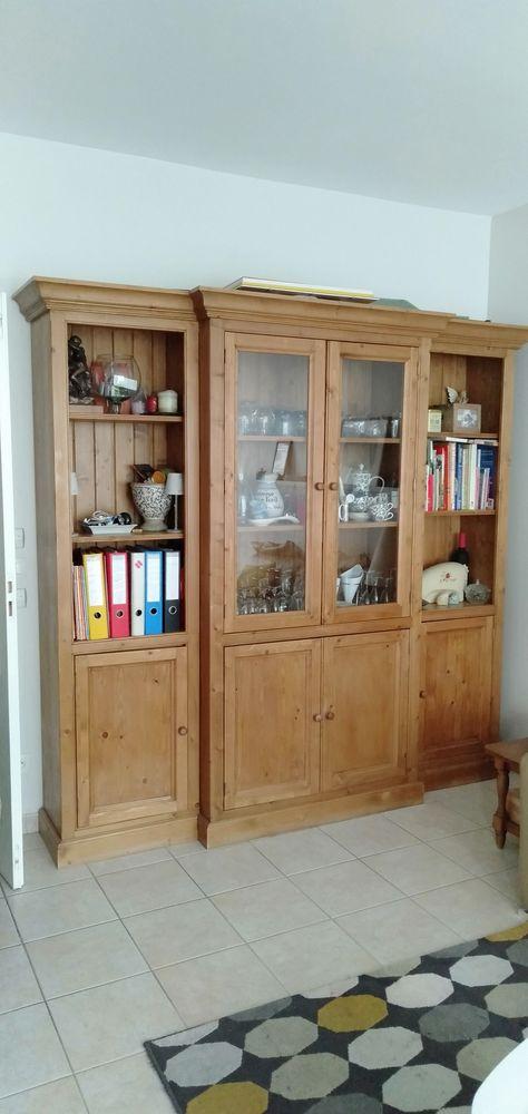 Bibliothèque en bois ciré  0 La Garenne-Colombes (92)