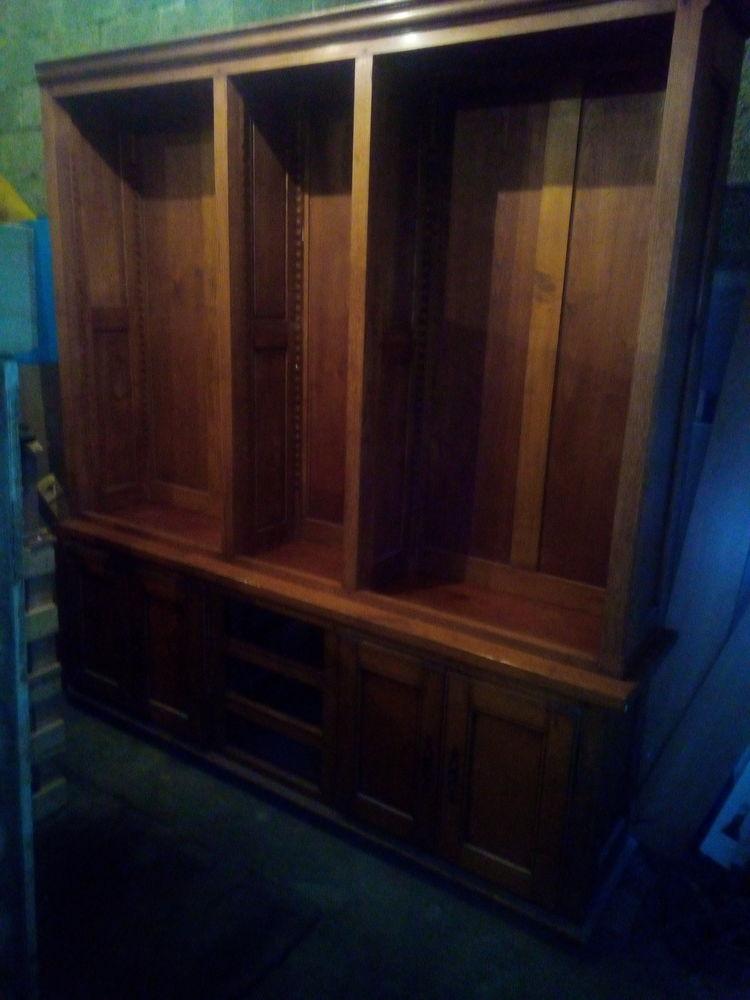 Bibliotheque bois massif 1200 Ugine (73)