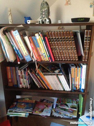 Bibliothèque chêne massif 60 Harnes (62)