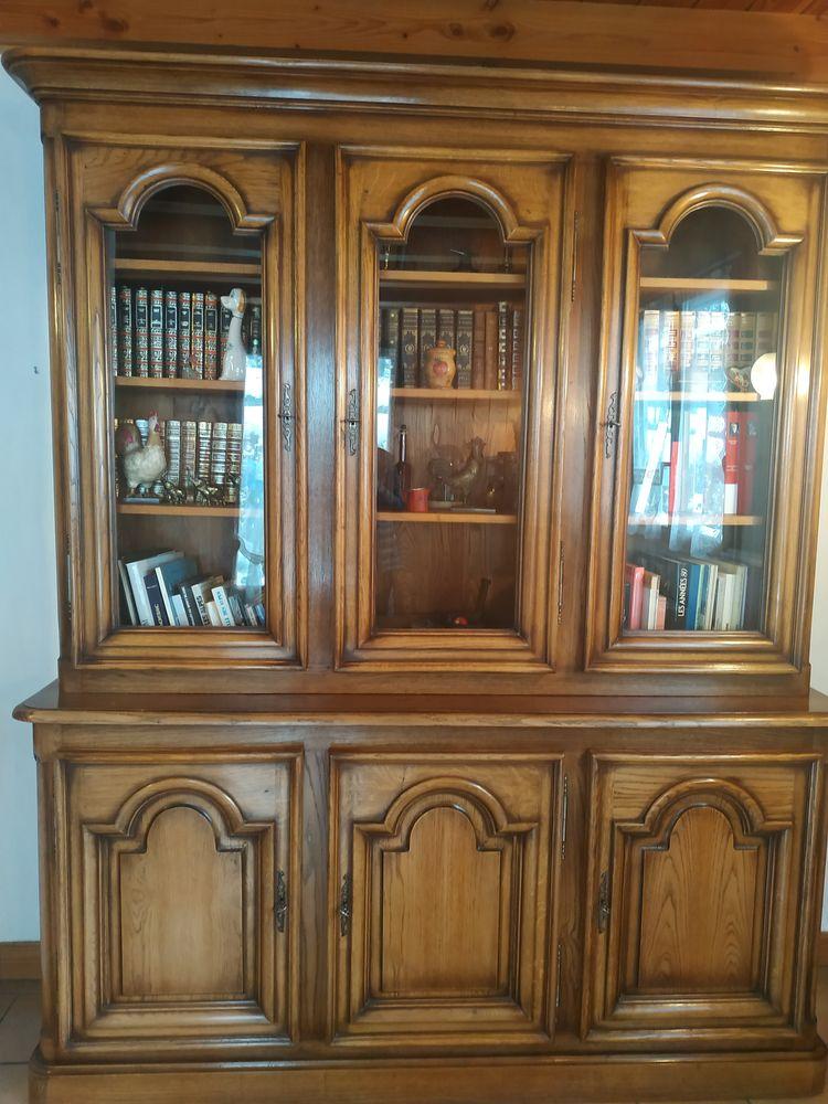 Bibliothèque chêne massif excellent état. 0 Chamonix-Mont-Blanc (74)