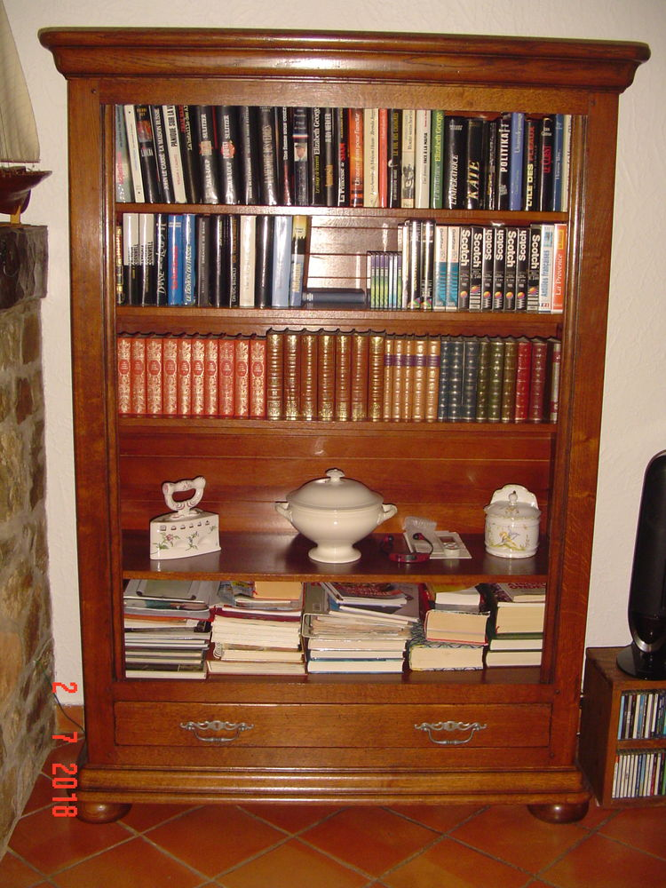bibliothèque en chène massif 400 Vidauban (83)