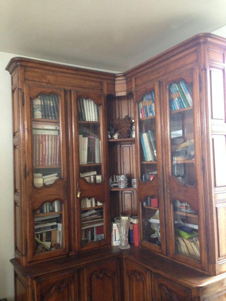 bibliothèque de coin en chêne 400 Grigny (91)