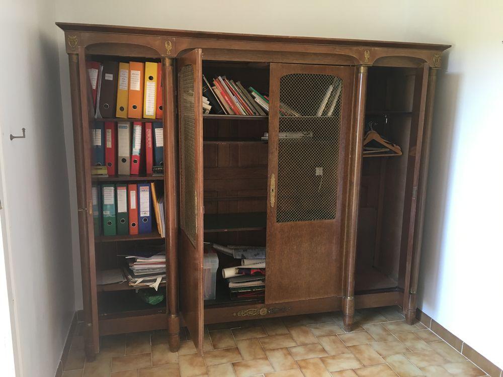 Bibliothèque Directoire en acajou  400 Fox-Amphoux (83)