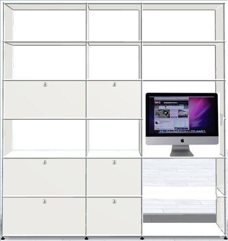 Bibliothèque usm haller informatic/rangement diver Meubles