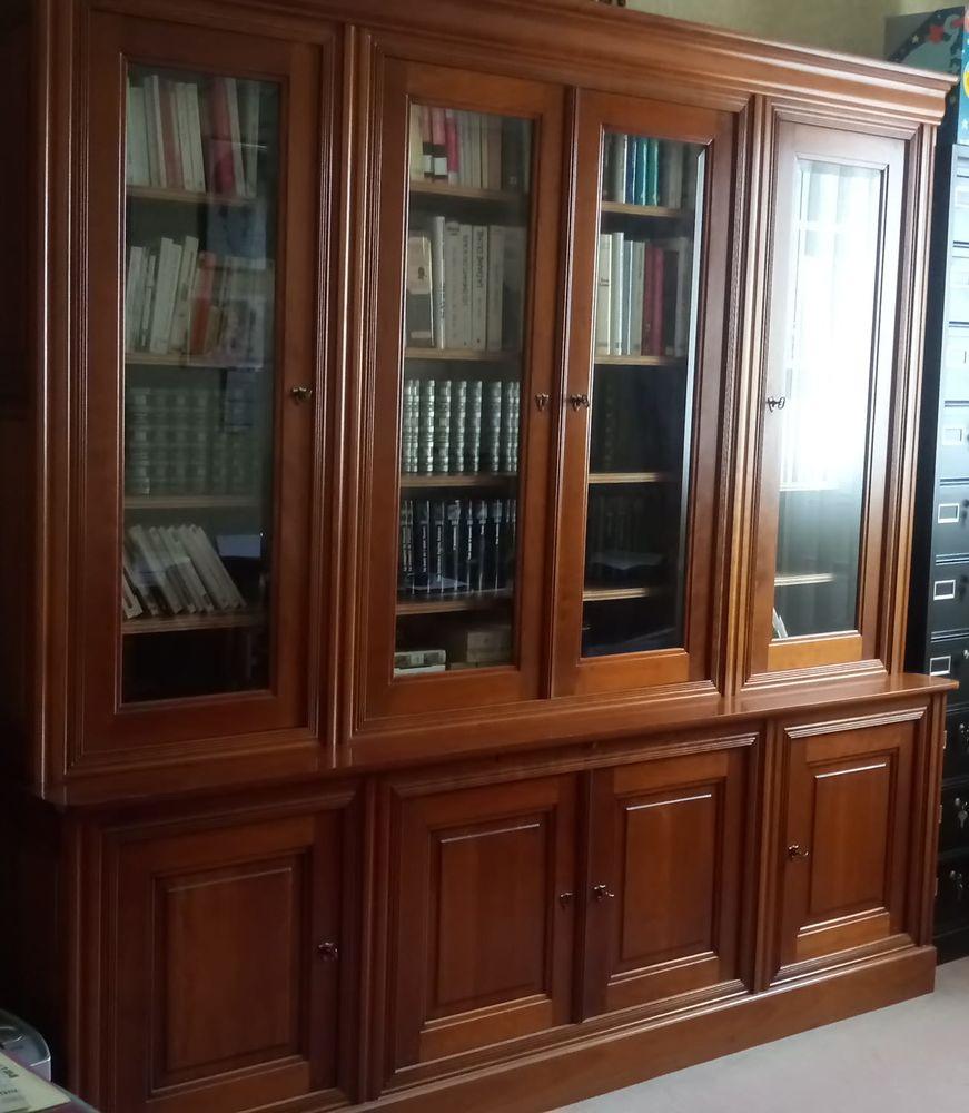 Bibliothèque en merisier massif 605 Le Plessis-Pâté (91)