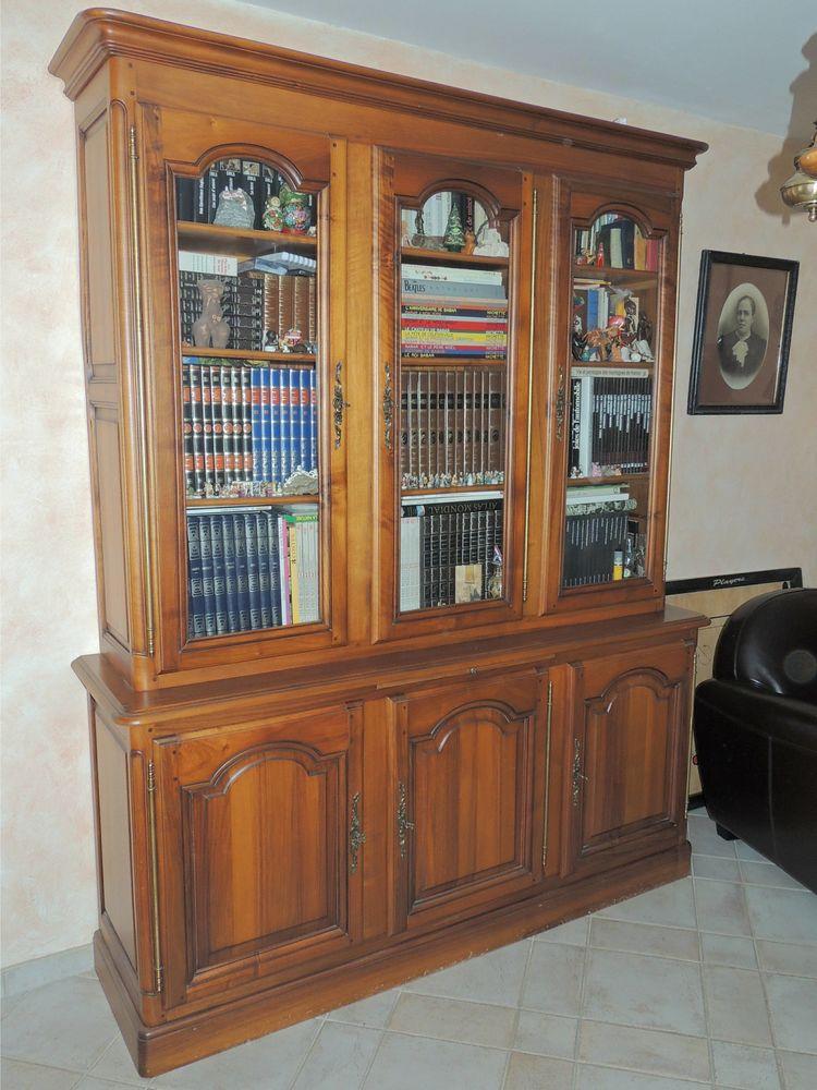Bibliothèque 3 portes LXIV Noyer 1000 Montigny-le-Bretonneux (78)