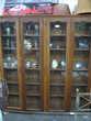Bibliothèque 4 portes rustique Meubles