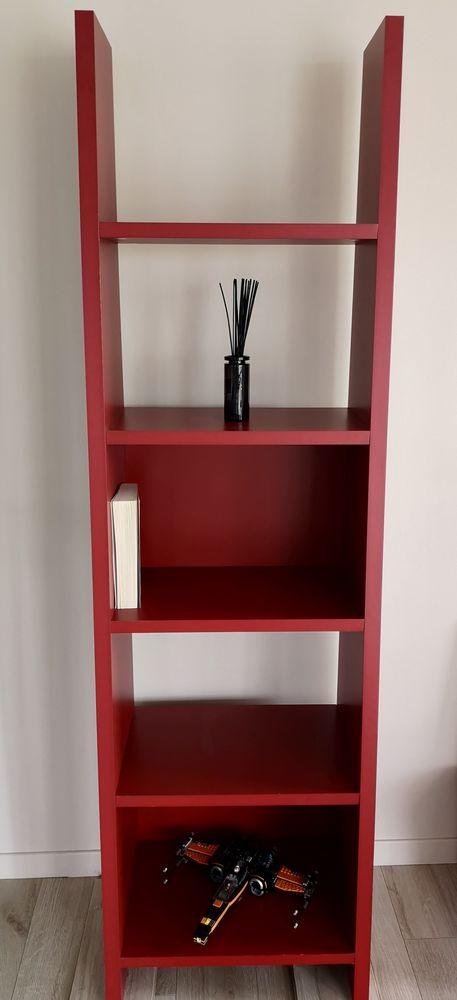 Bibliothèque rouge cerise 80 Ermont (95)