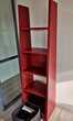 Bibliothèque rouge cerise Meubles