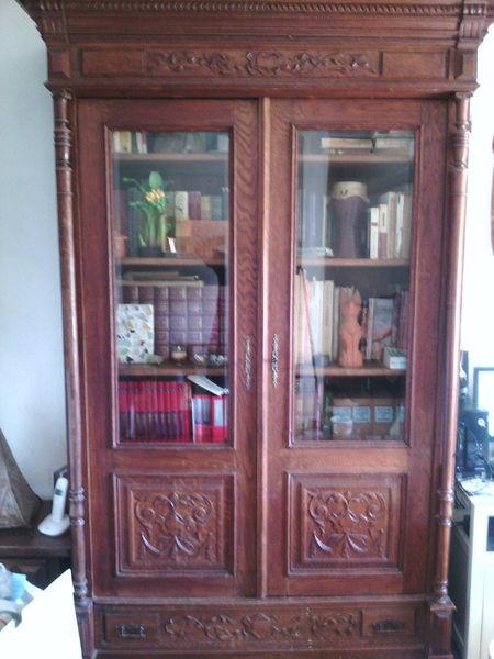 Bibliothèque style renaissance 400 Céret (66)
