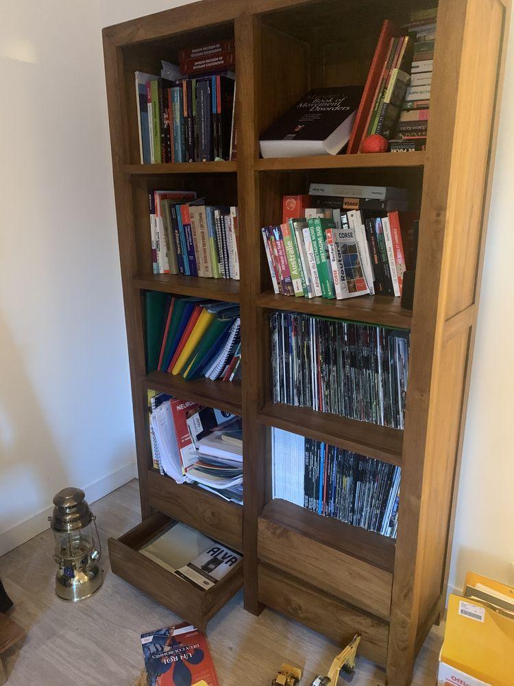 Bibliothèque en teck  430 Étables-sur-Mer (22)