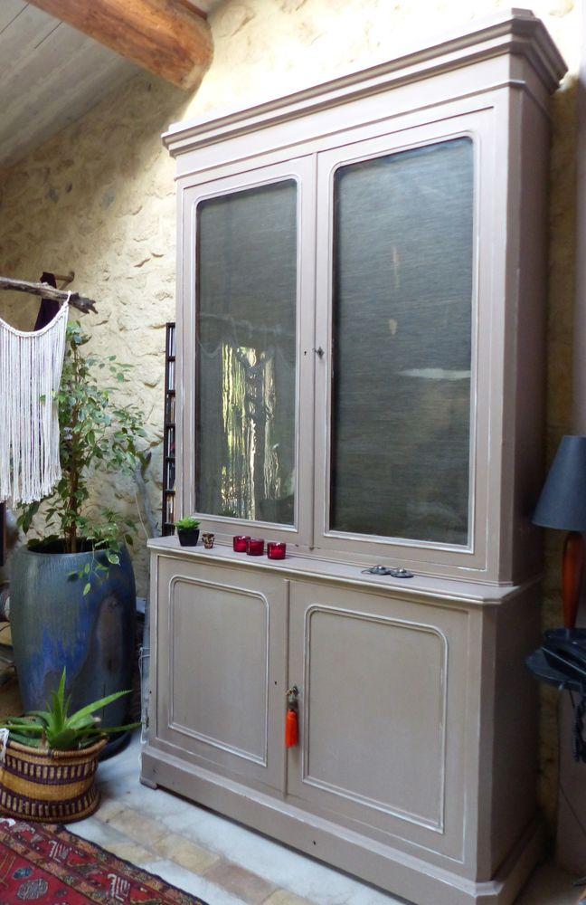 Bibliothèque ou vaisselier 550 Charleval (13)