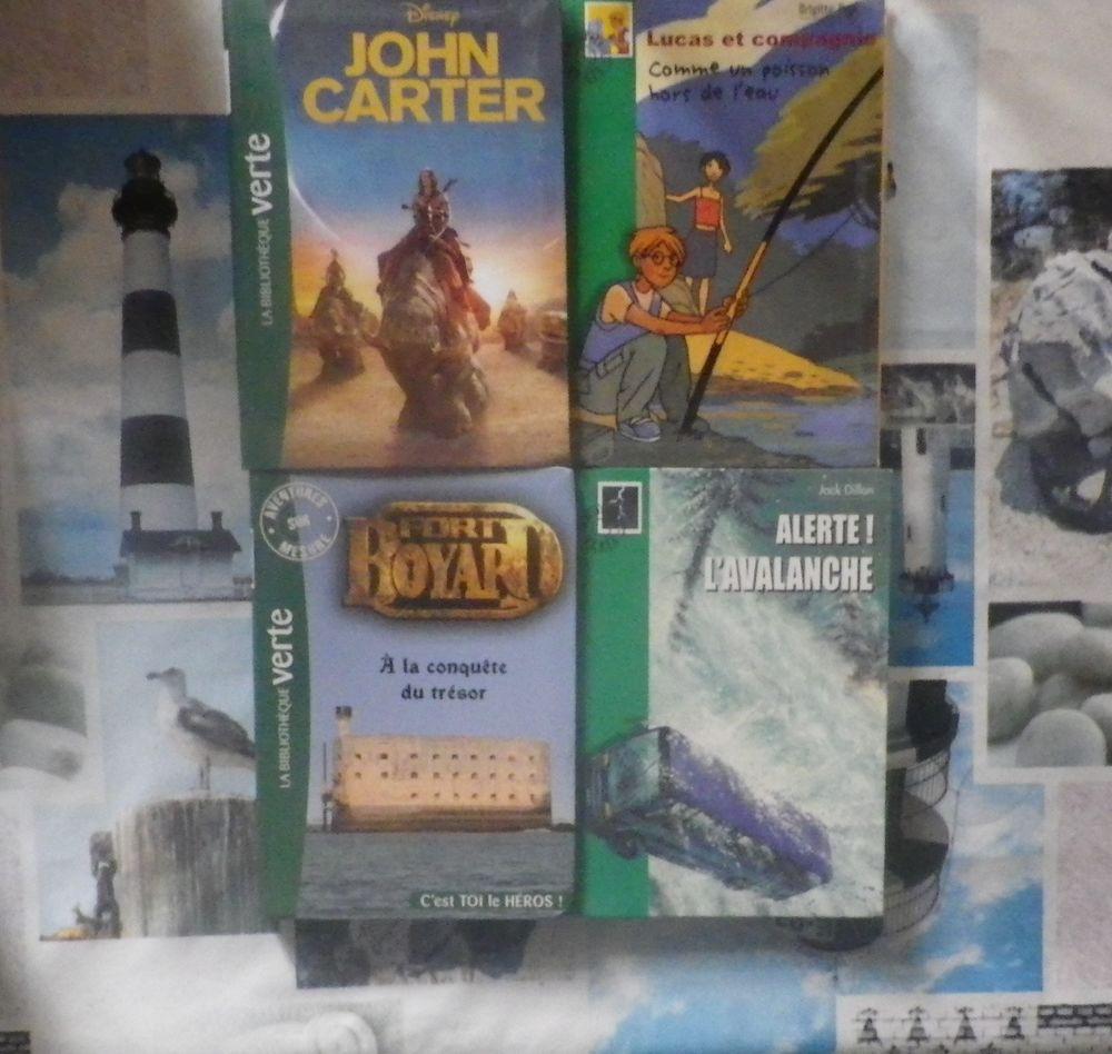 4 BIBLIOTHEQUE VERTE JOHN CARTER LUCAS ET CIE FORT BOYARD LI 4 Bubry (56)