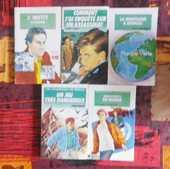 LOT 5 BIBLIOTHEQUES VERTES SOUPLES (détail dans l'annonce) 40 Attainville (95)