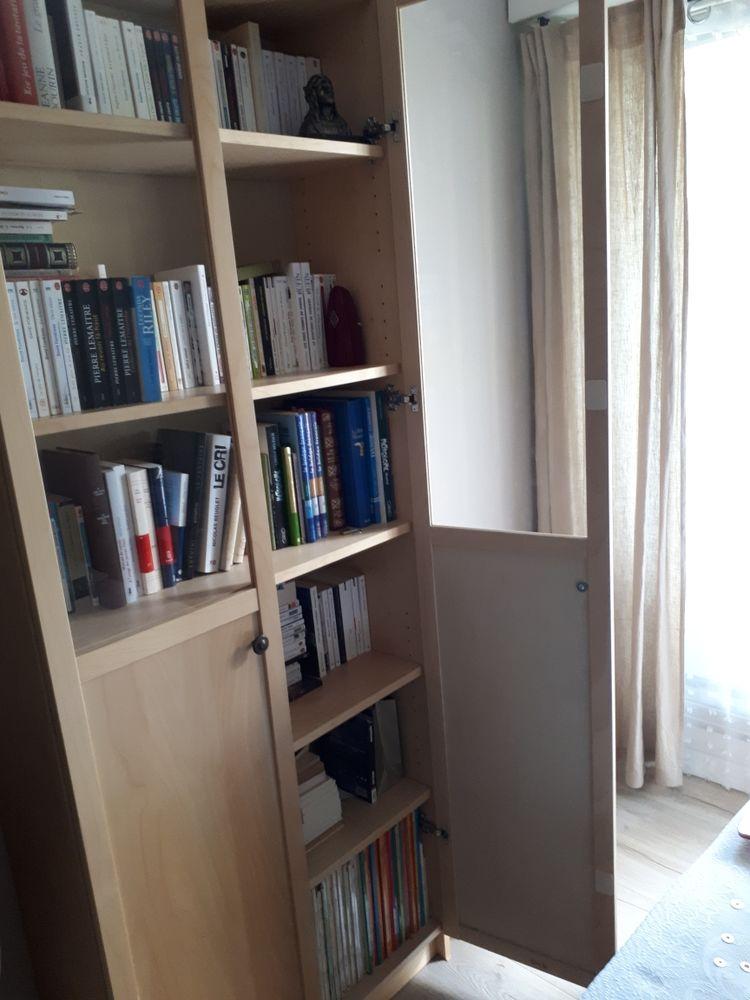 Biblith.Billy IKEA 202x80 bouleau portes vitrées 75 Toulon (83)