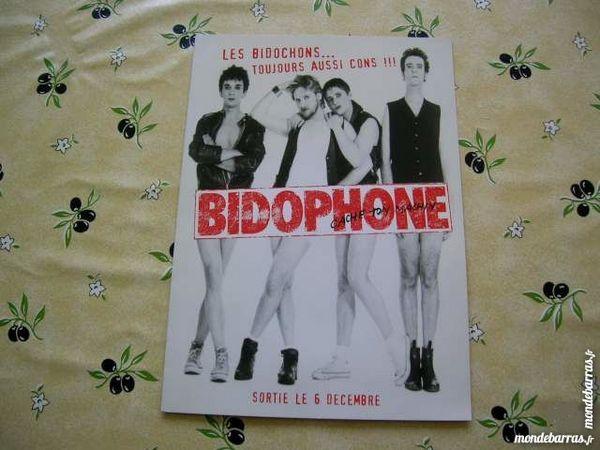 CD LES BIDOCHONS Bidophone PROMO press kit 18 Nantes (44)