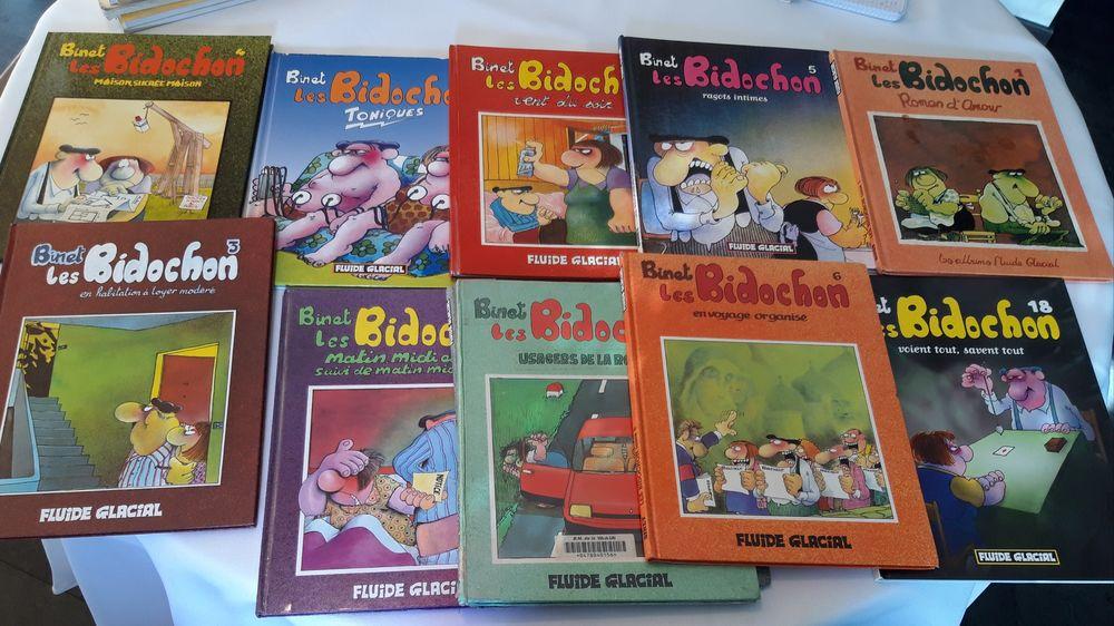 Lot de 10 BD BIDOCHONS Livres et BD