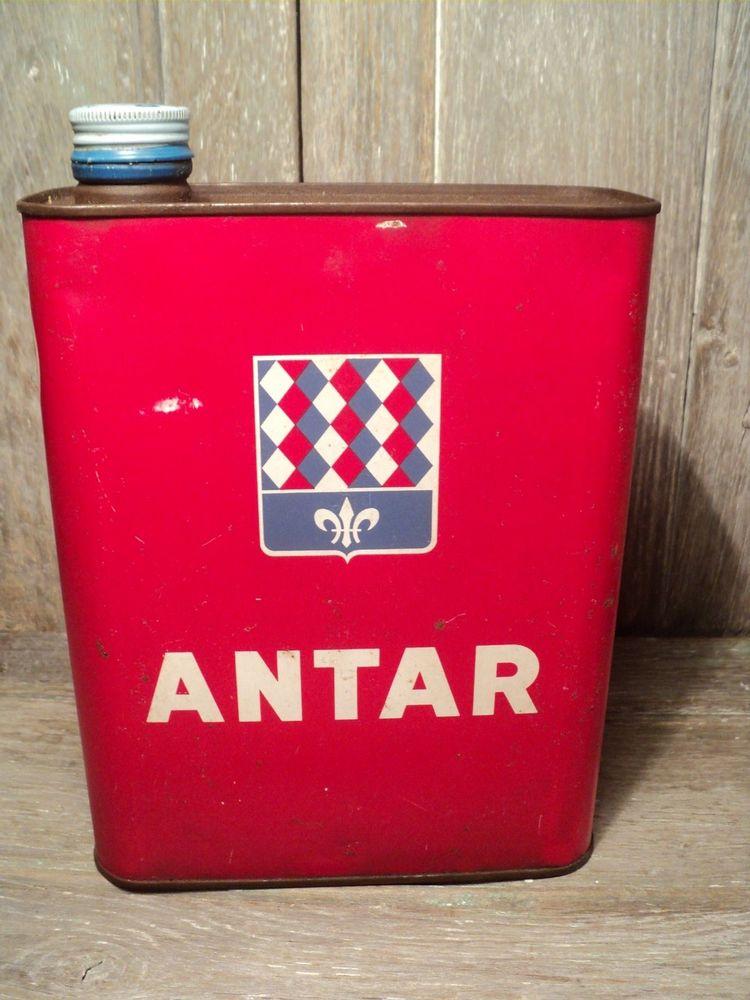 Bidon Huile 2L ANTAR Collection, Garage, Automobile 10 Loches (37)