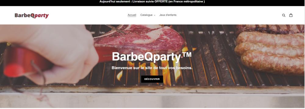 bienvenu sur notre site de de BBQ et accesoir Electroménager