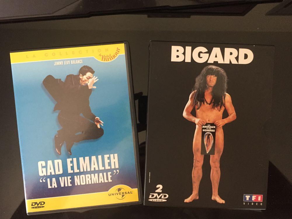 DVD Bigard + Gad Elmaleh 3 Villetelle (34)