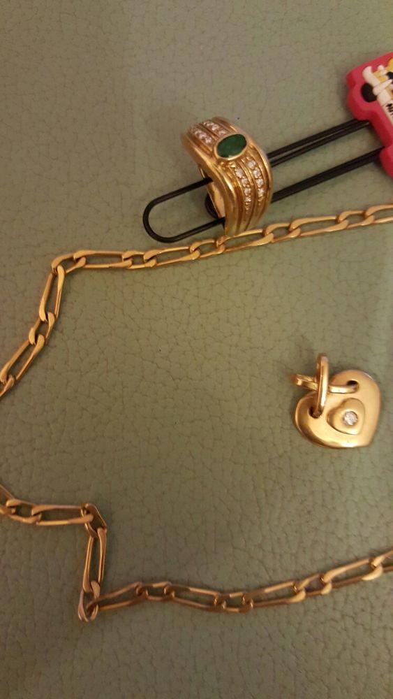 bijoux or 18 carats 1600 Six-Fours-les-Plages (83)