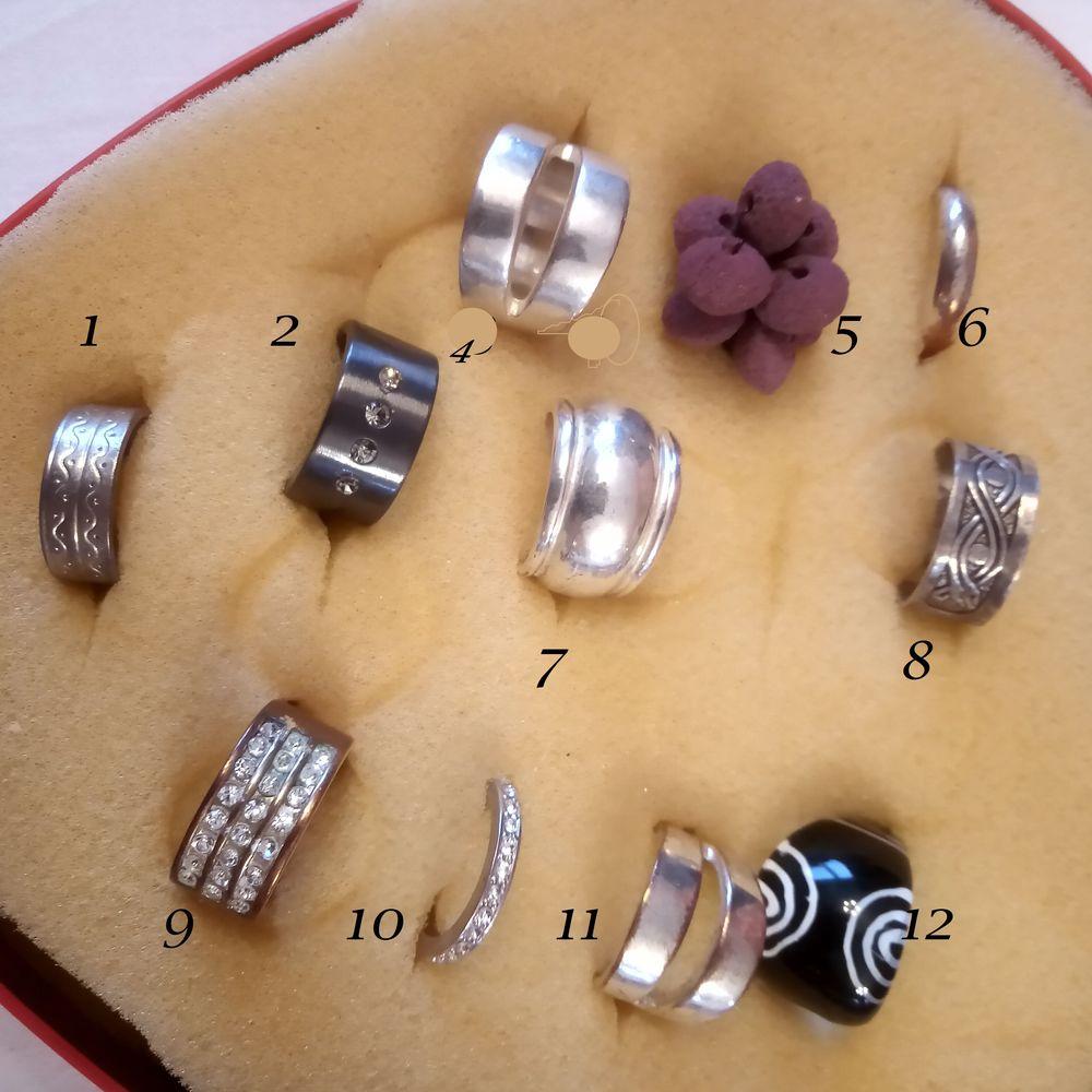 Lot de bijoux : colliers, pendentifs, bagues et bracelets 3 Allondrelle-la-Malmaison (54)