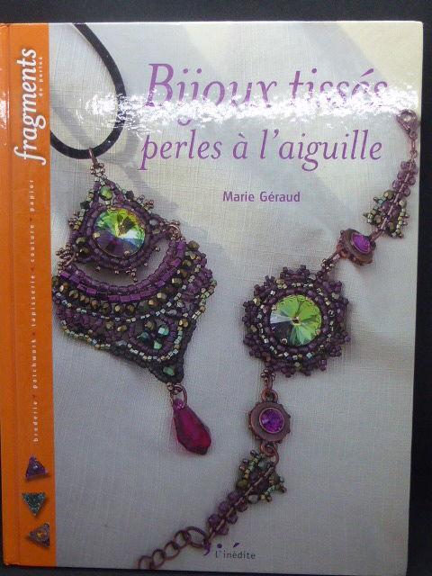 Bijoux tissés perles à l'aiguille Marie Géraud Livres et BD
