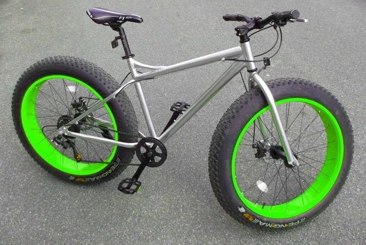 Fat Bike aluminium équipé Shimano neuf 525 Lisses (91)