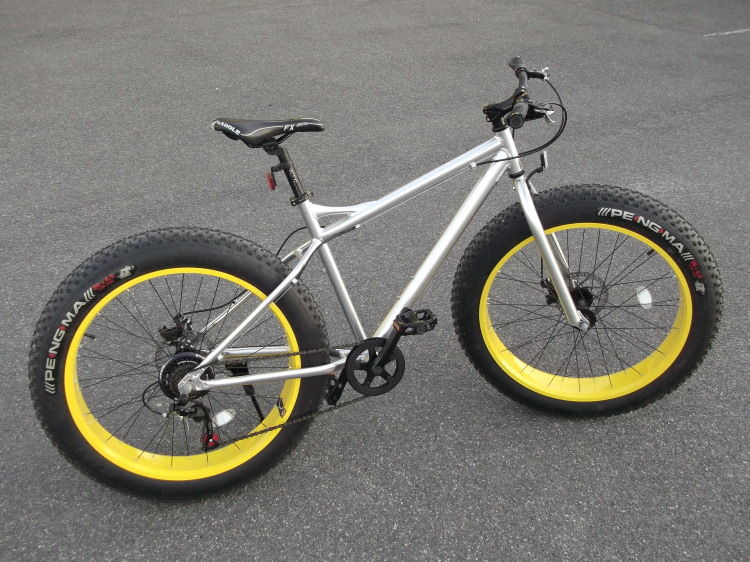 Fat Bike aluminium Roues 26  neuf. 500 Lisses (91)