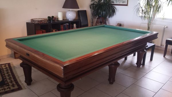 billard d'occasion chevillotte