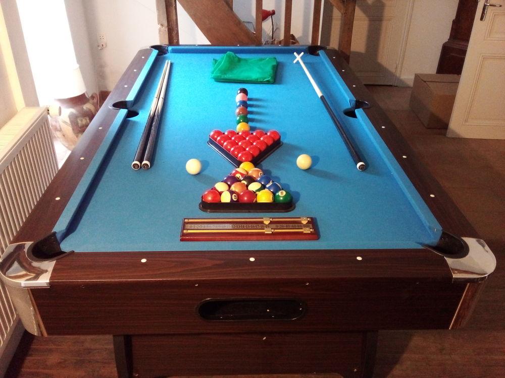 Billard 8 pieds pool snooker Simba 600 Orbais-l'Abbaye (51)