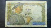 Billet de 10 Frs 1942 5 Montargis (45)
