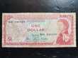 Billet one dollar Caraïbes