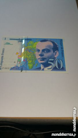 Billet 50 franc bleu français 10 Colmar (68)