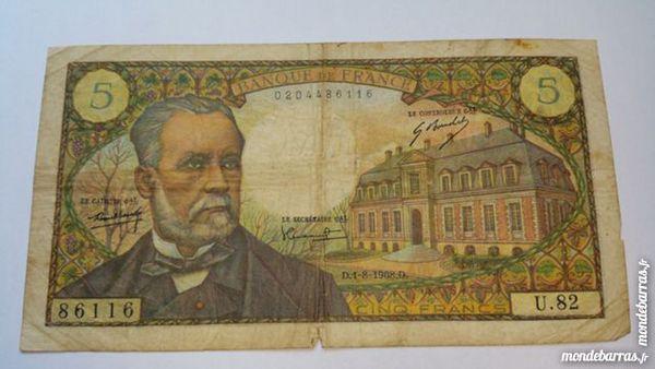 Billet 5 franc français 10 Colmar (68)