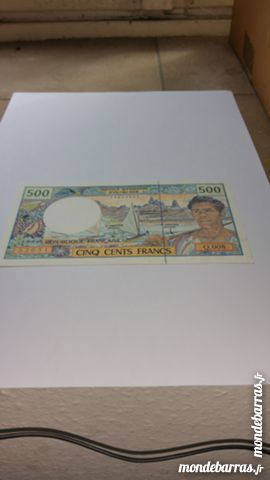 Billet 500 franc nouvelles Calédonie 10 Colmar (68)
