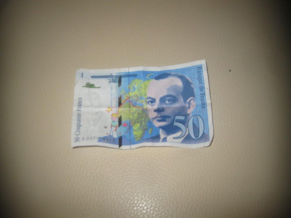 billet de 50 franc 0 Saint-Brieuc (22)