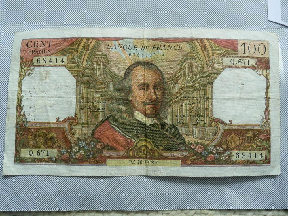 Billet 100 francs Corneille  13 Bordeaux (33)