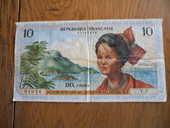 billet de 10 francs outre mer 0 Dammarie-sur-Loing (45)