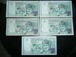 Lot de 5 billet Oman  100 Baisa 1995