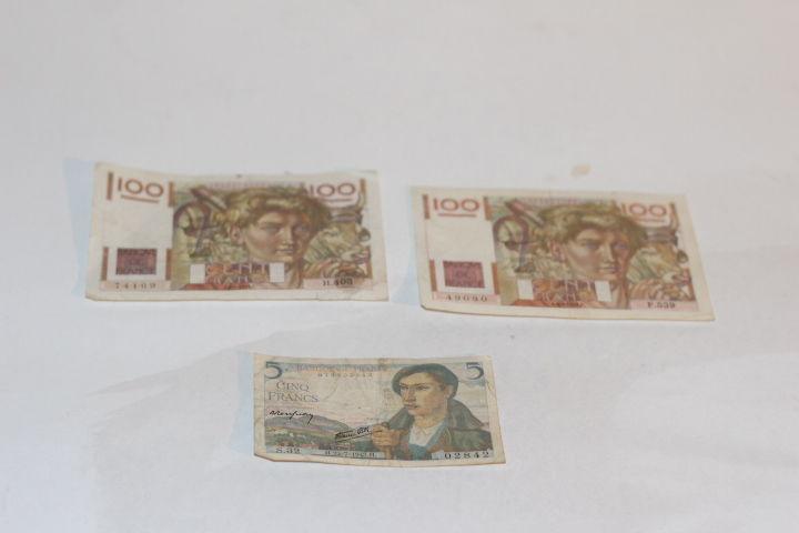 Billets de banque Français. 25 Liévin (62)