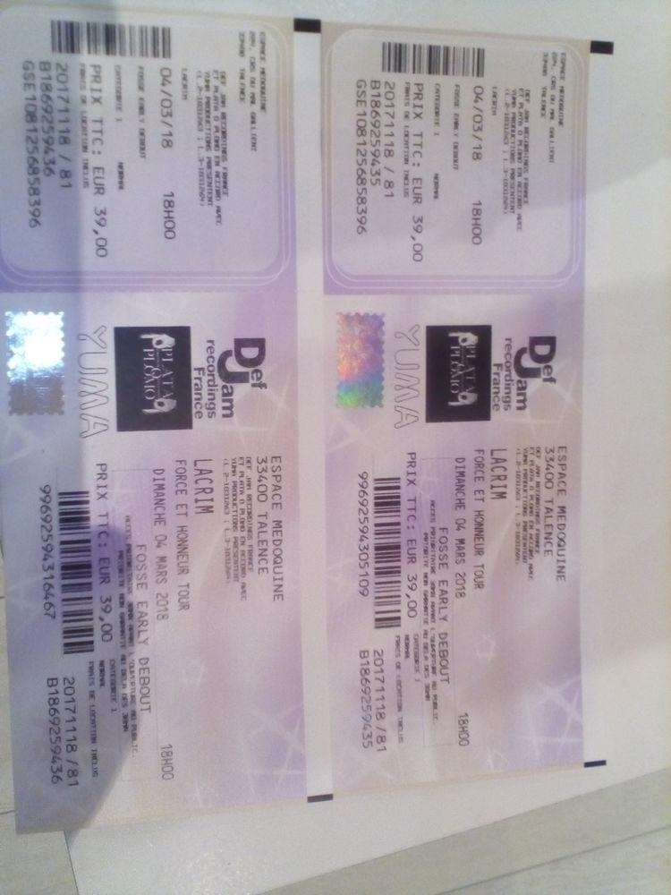 Billets de concert Lacrim 70 Aix-en-Provence (13)