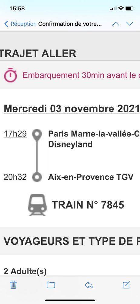 2 billets OUIGO Disneyland / Aix TGV 80 Saint-Chamas (13)
