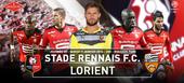 2 billets pour match  STADE RENNAIS - FC LORIENT  sam. 9/01 16 Servon-sur-Vilaine (35)