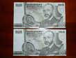 Lot de 2 billets 100 schilling Autriche 1984