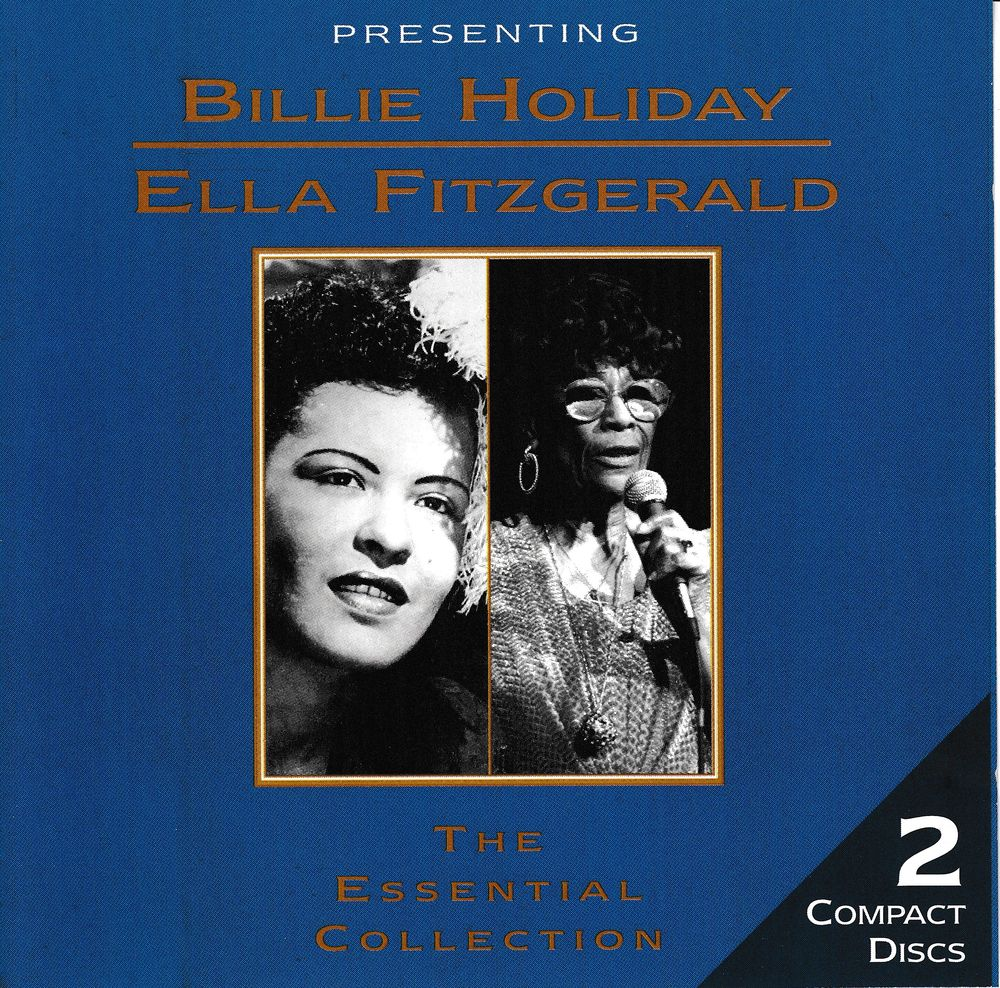 CD Billie Holiday - Ella Fitzgerald Essential Collection CD et vinyles