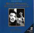 CD  Billie Holiday -  Ella Fitzgerald   Essential Collection